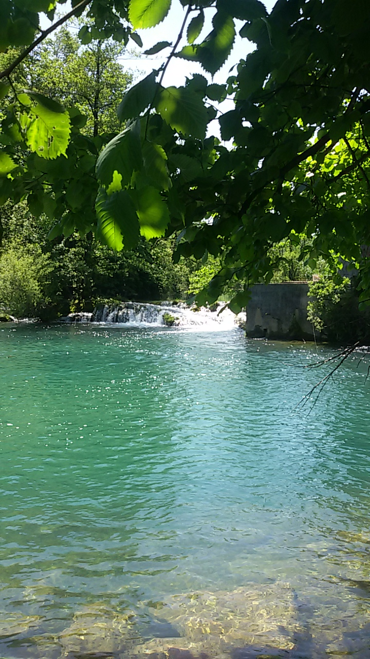 river Mreznica in Croatia