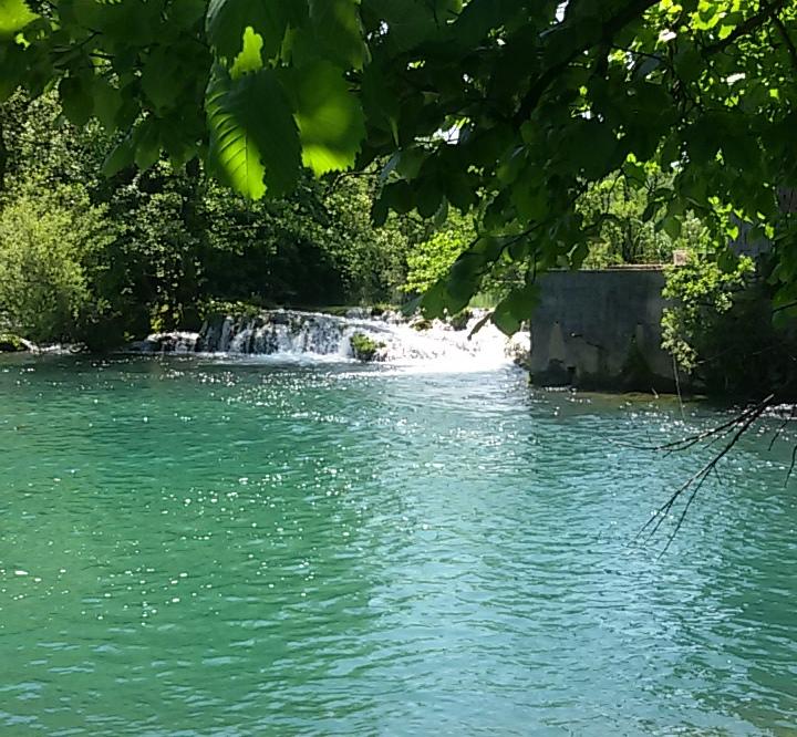 river Mreznica in Croatia