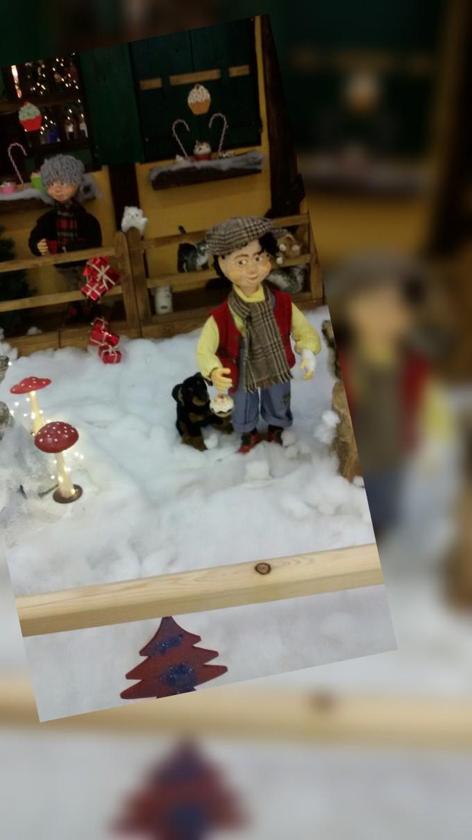 christmas theme display