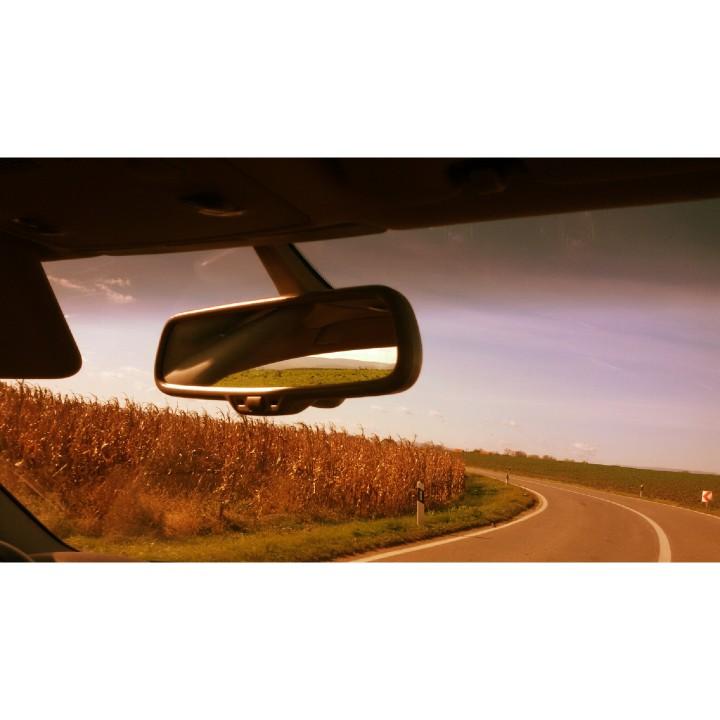 rear view mirror original photography work