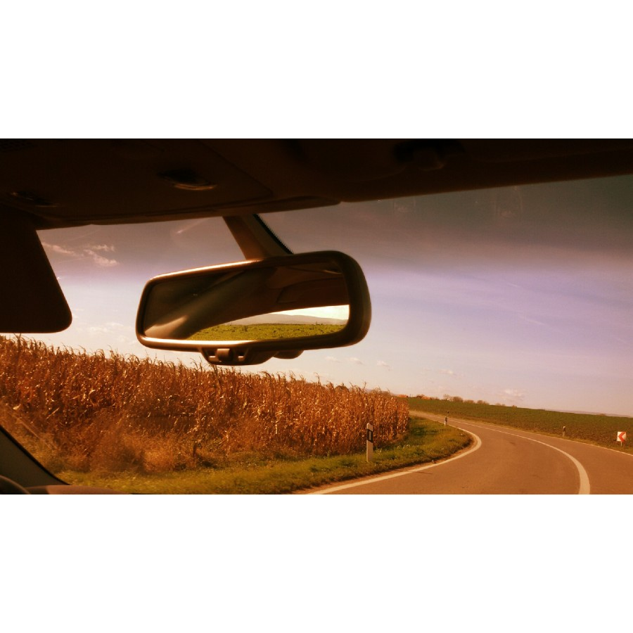 rear view mirror original photography work
