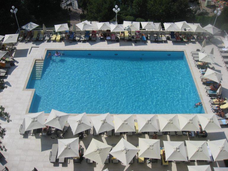 Opatija Croatia coast hotel swimming pool travel best friends