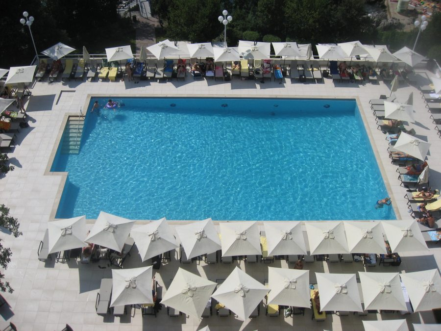 Opatija Croatia coast hotel swimming pool travel best friends