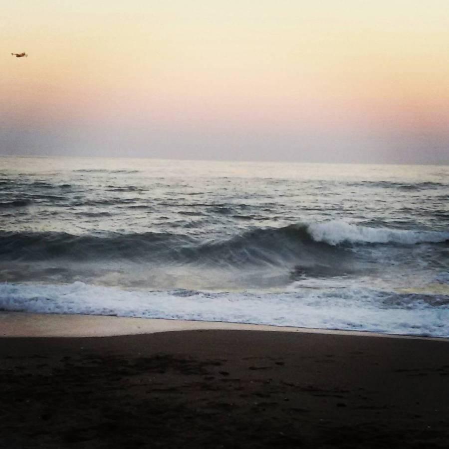 sunset beach fuengirola south spain travel summer water coast