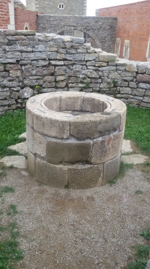 well Medvedgrad Zagreb Croatia medieval fort 13th century history historic sightseeing tourism sights