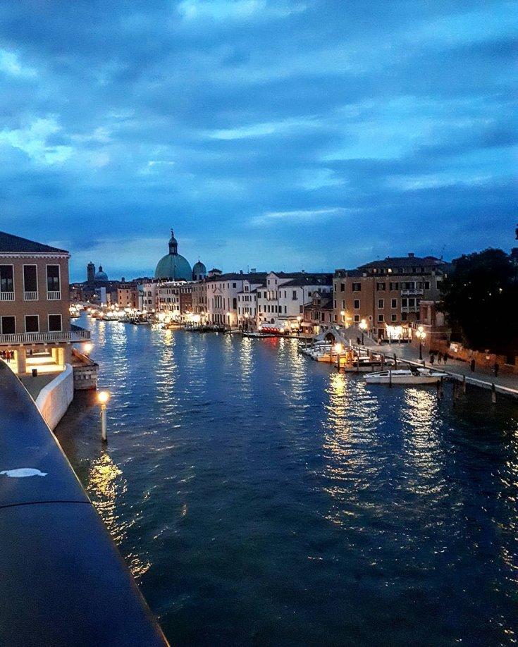 Venice Italy night