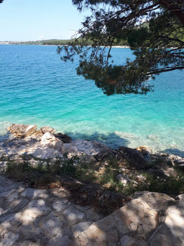 travel photography Drage Croatia coast Dalmatia