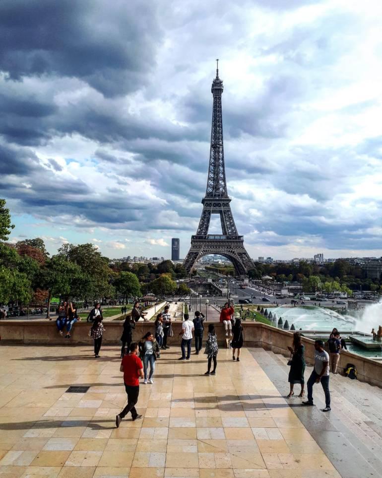 Eiffel Tower Paris France 2018 travel photography
