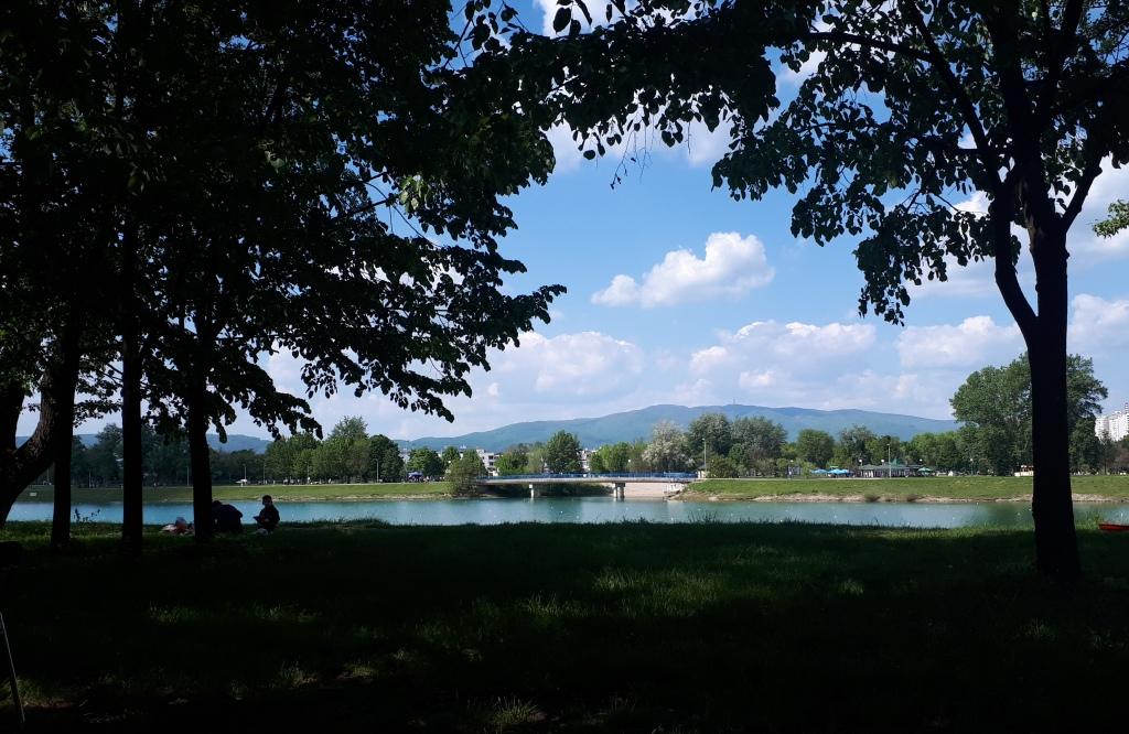 Jarun lake Zagreb Croatia travel visit